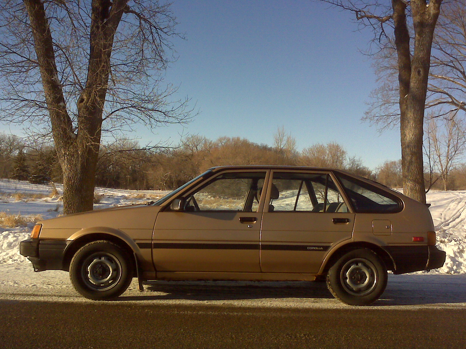 1984 Toyota Corolla at 550,601 Miles